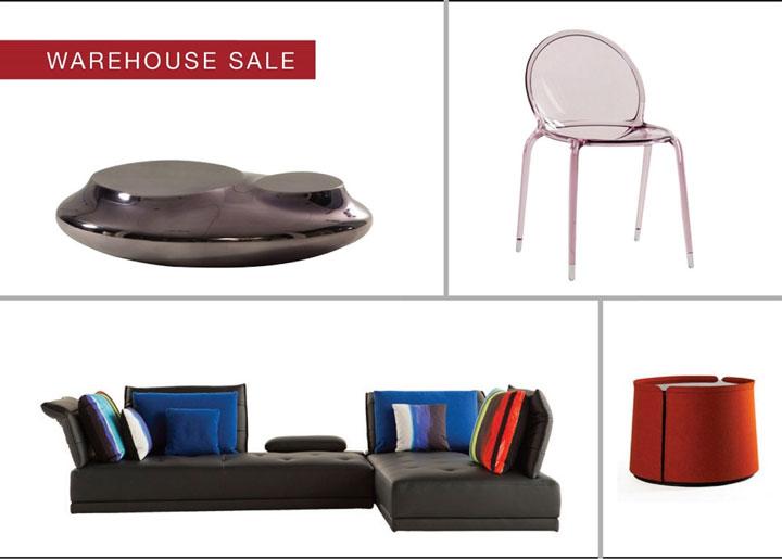 Roche Bobois NYC Pop-up Warehouse Sale