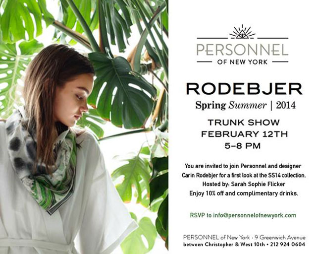Rodebjer Trunk Show