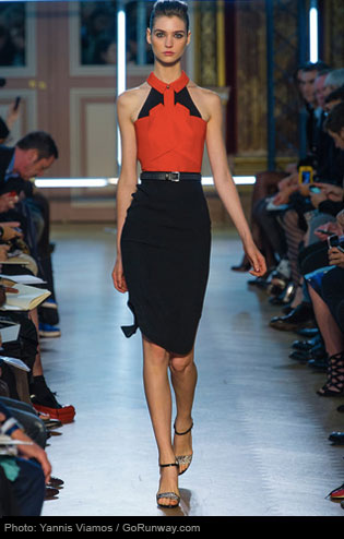 Roland Mouret: Pencil Skirt 2013 spring and summer fashion trend