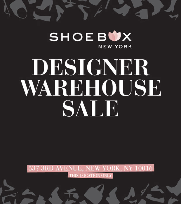 The Shoe Box Designer Warehouse Sale