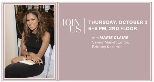 #SHOESFIRST with Marie Claire