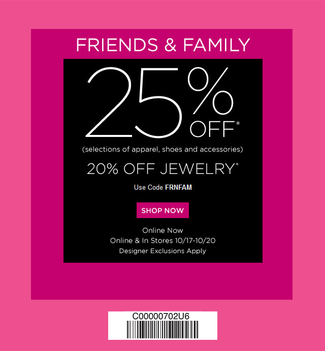 graphic regarding Avenue Coupon Printable referred to as Saks 5th street coupon pals and spouse and children / Mission