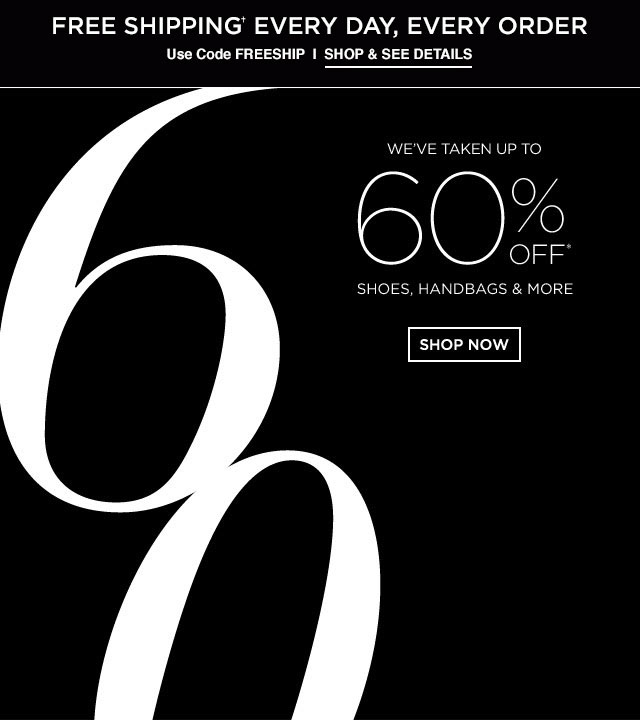 Saks Fifth Avenue Spring Retail Sale