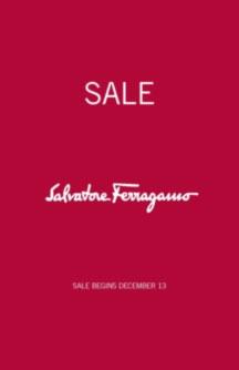 Salvatore Ferragamo Fall/Winter Retail Sale