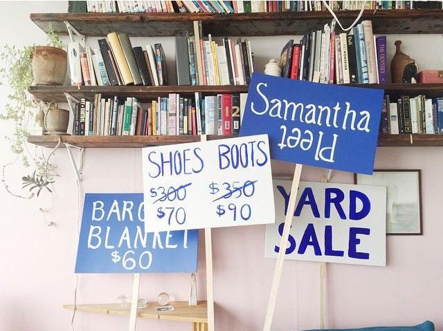 Samantha Pleet Spring/Summer 2015 Sample Sale