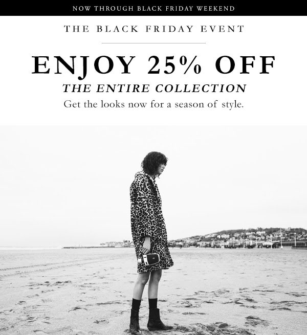 Sandro Black Friday Sale