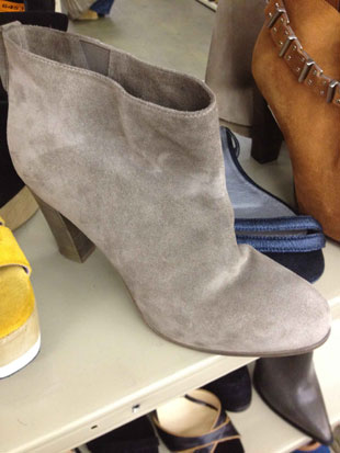 Satore Ankle Cut Suede Boots in Sand ($419, orig. $1,045)