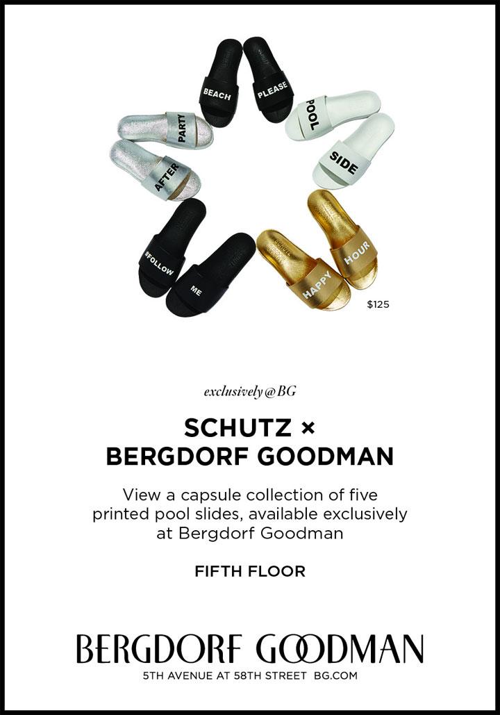 Schutz x Bergdorf Goodman Trunk Show