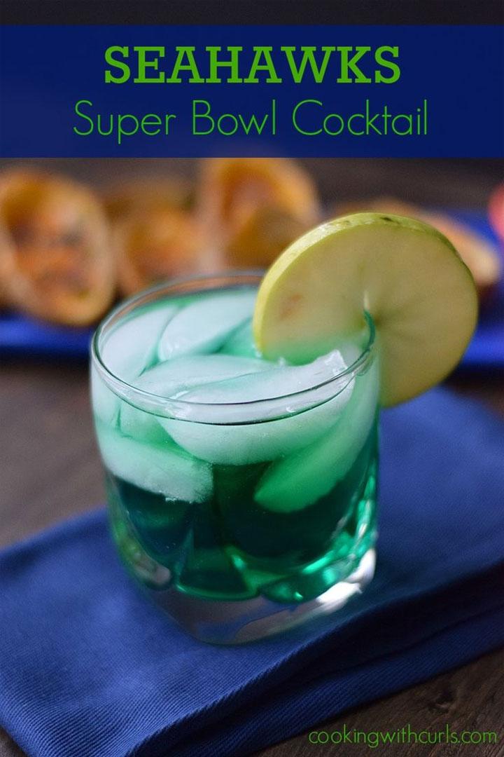 Seahawks Super Bowl Cocktail