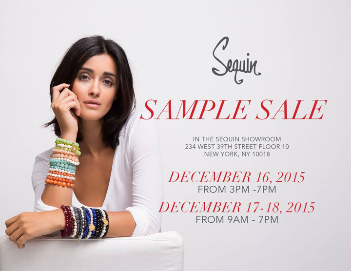 Sequin Sample Sale