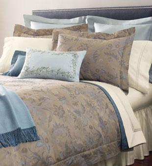 Sonya Full/Queen Duvet Set - Italian-woven 100% Egyptian cotton sateen jacquard: $550 (orig. $1,385)