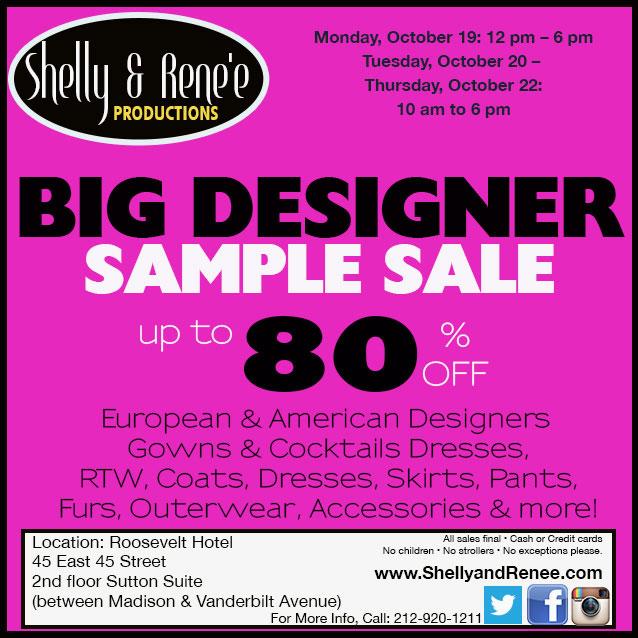 The Big Designer Sample Sale