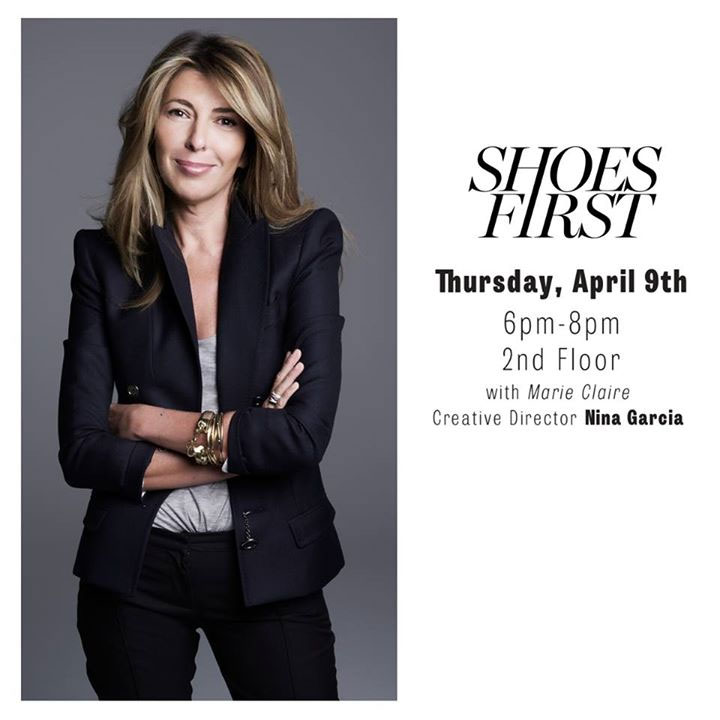 Shoes First with Marie Claire & Nina Garcia