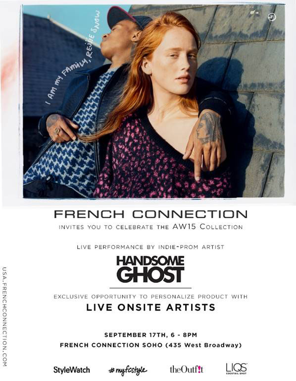 Shop & Rock with French Connection X Handsome Ghost