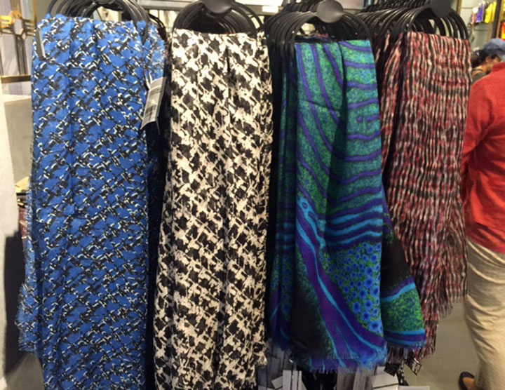 Silk Cashmere Scarfs for $99