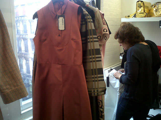 Silk dresses, mostly size Small at Jil Sander Sample Sale