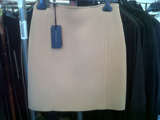 Great collection of skirts at Jil Sander Sample Sale