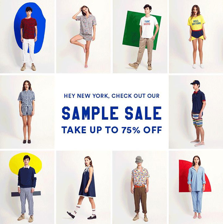 Sleepy Jones Sample Sale