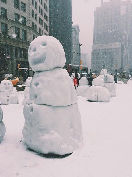 Snowman @zahraS #Blizzardof2015