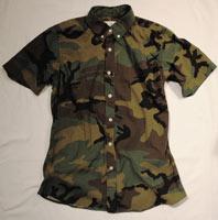 8.15 August Fifteenth camouflage shirt: $50 (orig. $215)