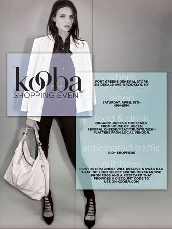 Spring To Life Shopping Event + Kooba Trunk Show