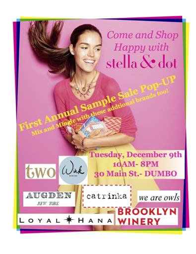 Stella & Dot, Augden, & More Pop-up Sample Sale