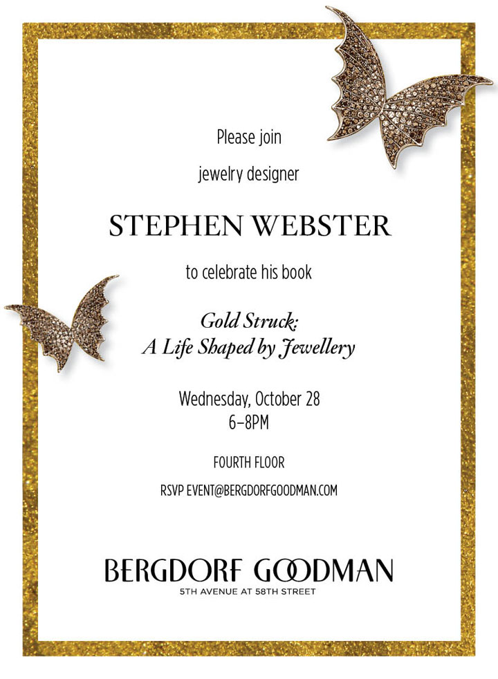 Stephen Webster Personal Appearance