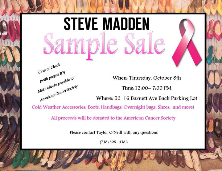 Steve Madden Sample Sale