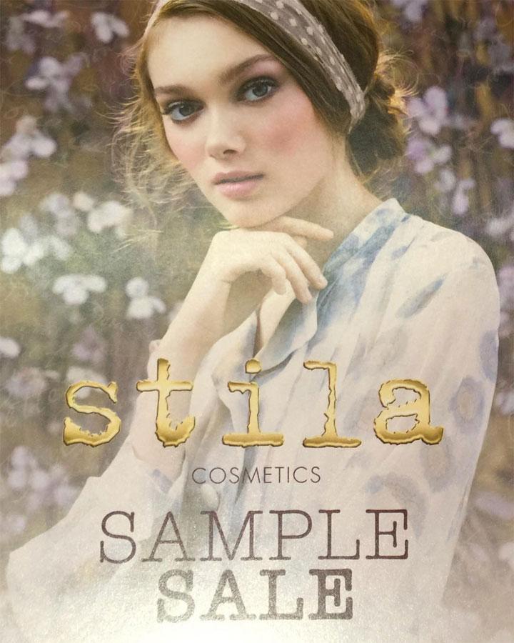 Stila Cosmetics Sample Sale