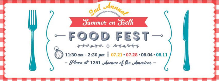 Summer on Sixth Food Festival