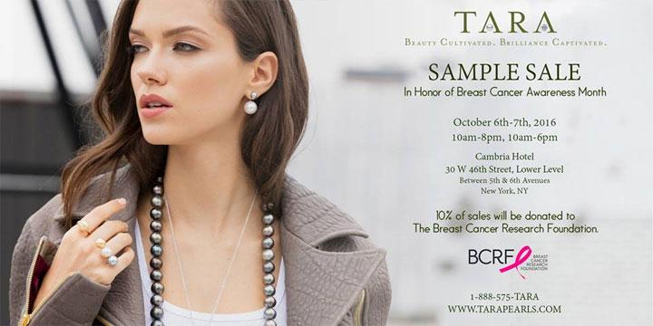 TARA Pearls Sample Sale
