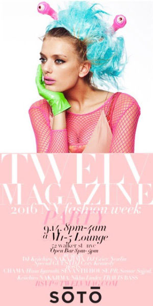 Twelv Magazine NYFW Party 2016