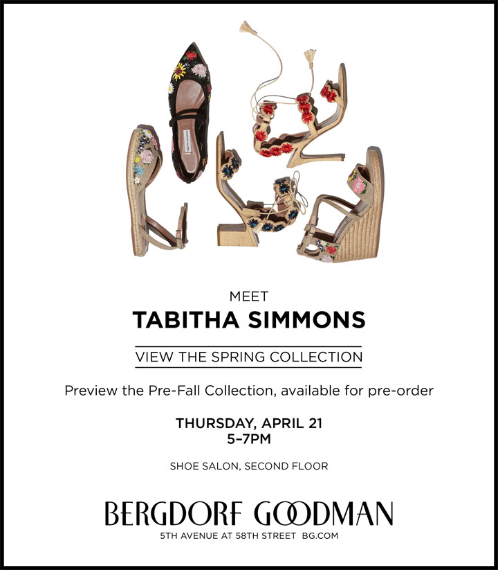 Tabitha Simmons Trunk Show