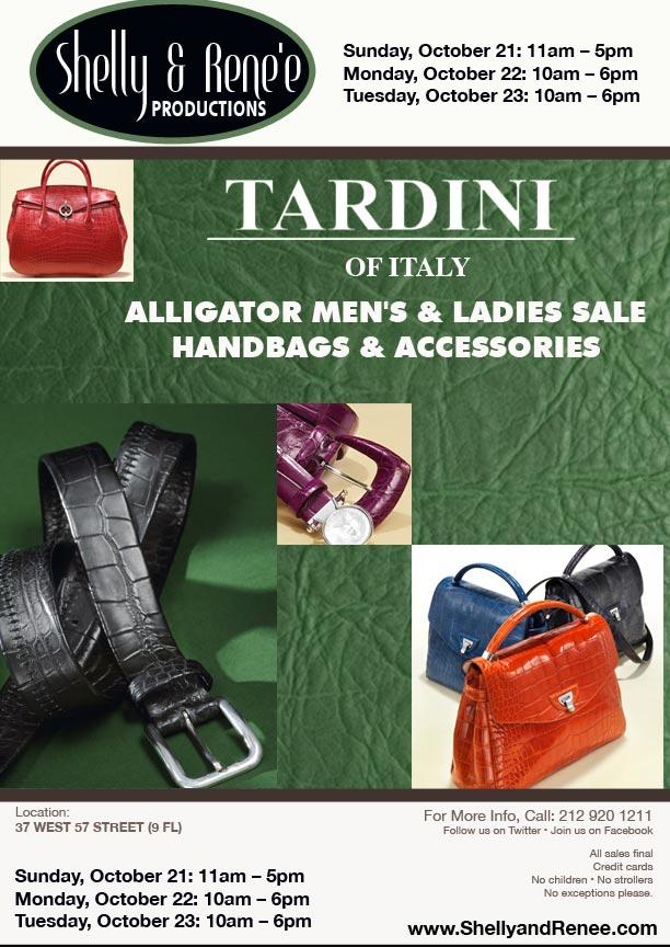 Tardini Sample Sale