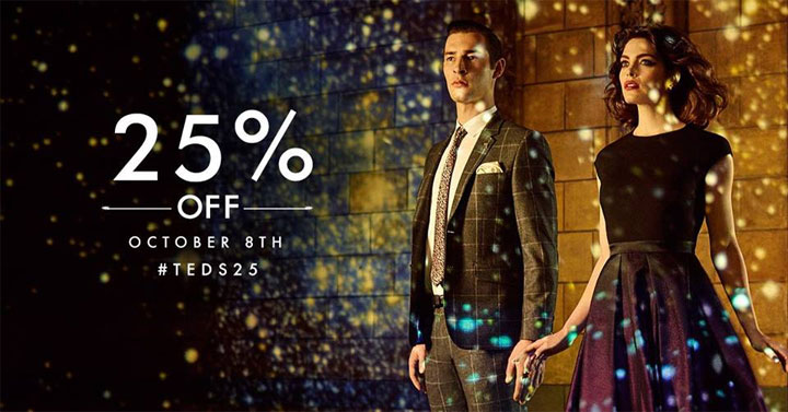 Ted Baker Fall Shopping Event