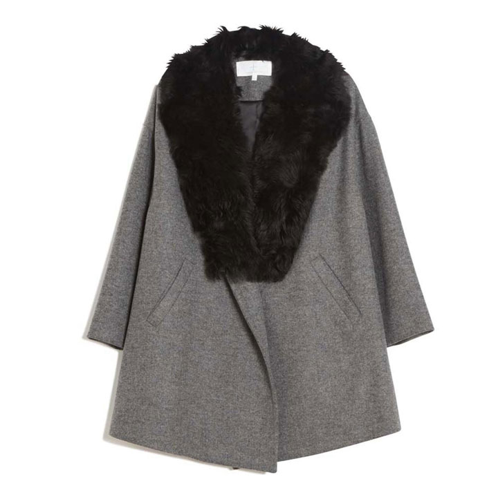Thakoon Fur Trim Coat: $516 (orig. $1,290)