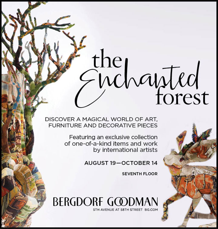The Enchanted Forest at Bergdorf Goodman