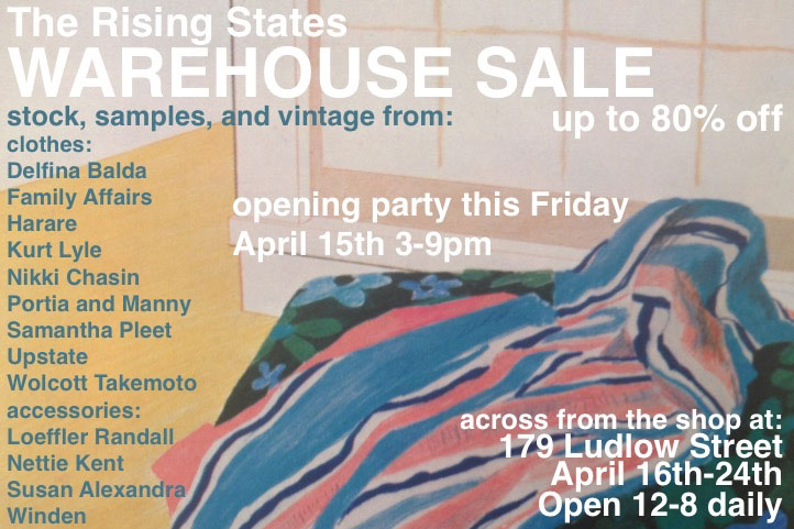 The Rising States Warehouse Sale