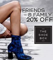 The Shoe Box Friends & Family Sale