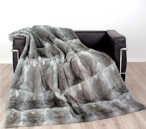 The Silver Peacock Real & faux fur blankets and throws: $800 - $2,000 (orig. $1,500 - $4,500)