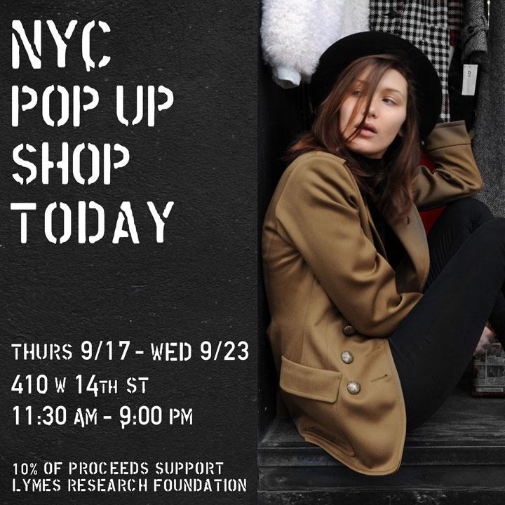 The Vintage Twin Pop-up Shop