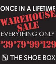 The Shoebox NYC Warehouse Sale