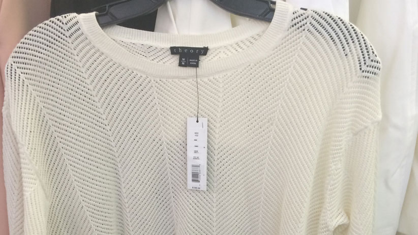 Theory & Helmut Lang Sample Sale Review