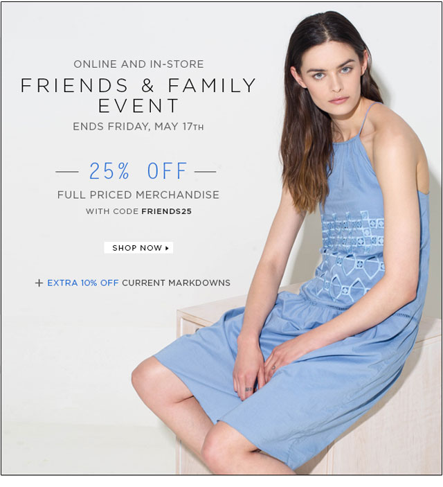 Tibi Friends & Family Sale