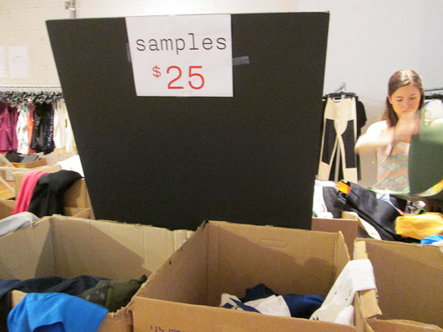 Easily salvageable sample items priced at $25