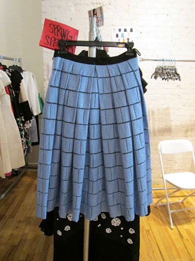 Skirts marked down to $50, from $75