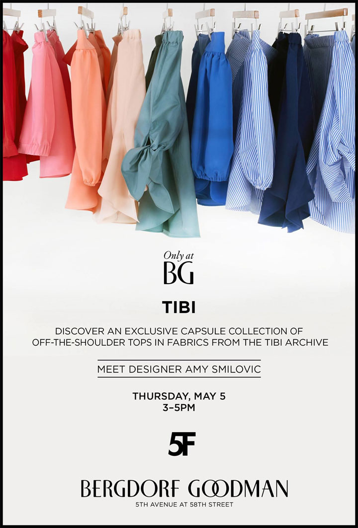 Tibi at Bergdorf Goodman