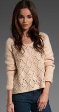 Tibi Chunky Scoop Sweater