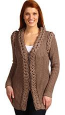 Tibi Long Topper Sweater