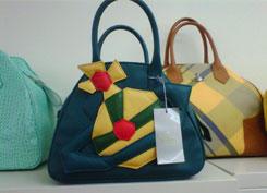 Vivienne Westwood Tippo Pelle Handbag